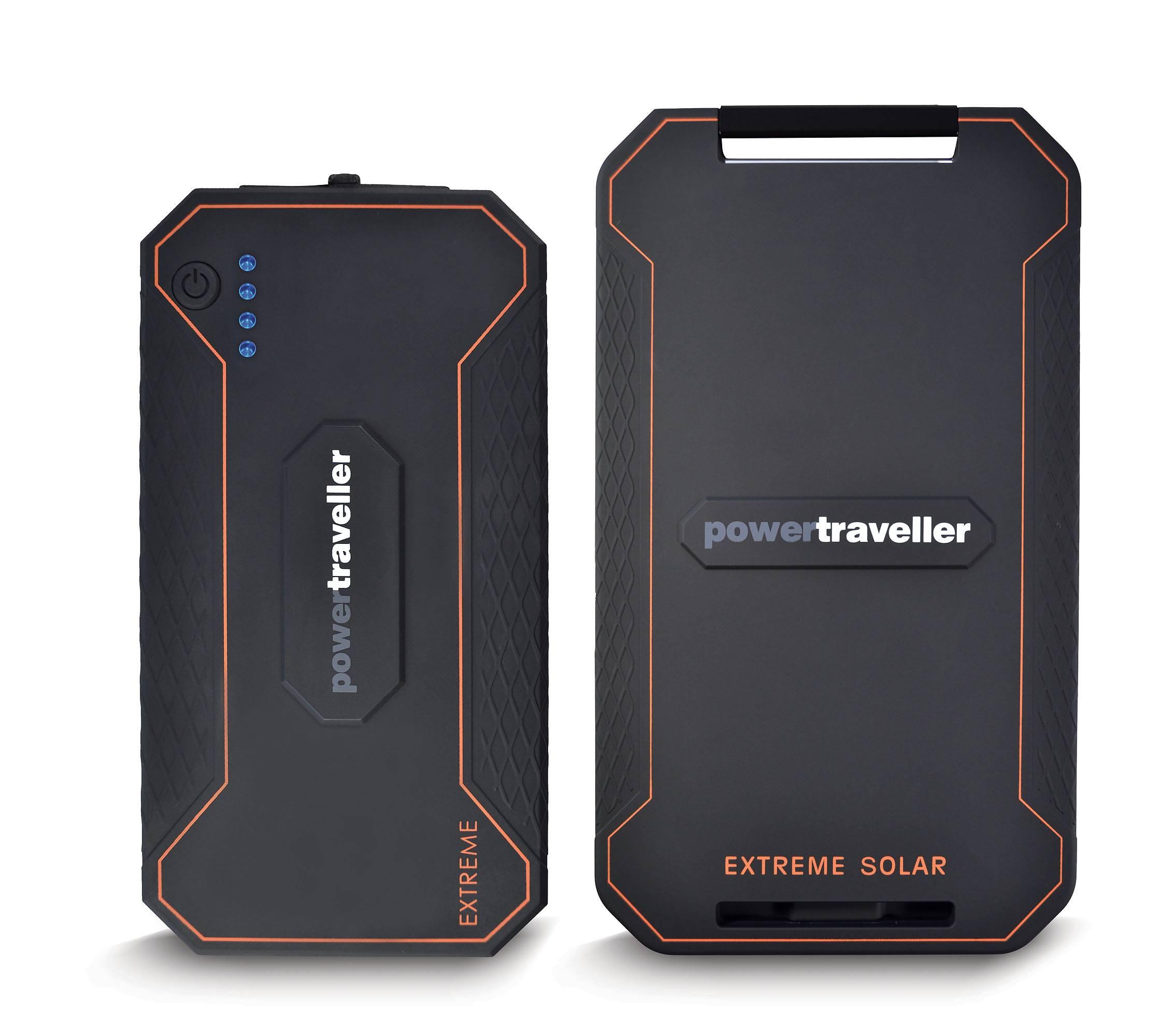 Powertraveller Extreme är en hårdkokt powerbank för äventyr och prepping!